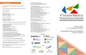 folder 4 Encontro Mineiro de Psicologia_frente