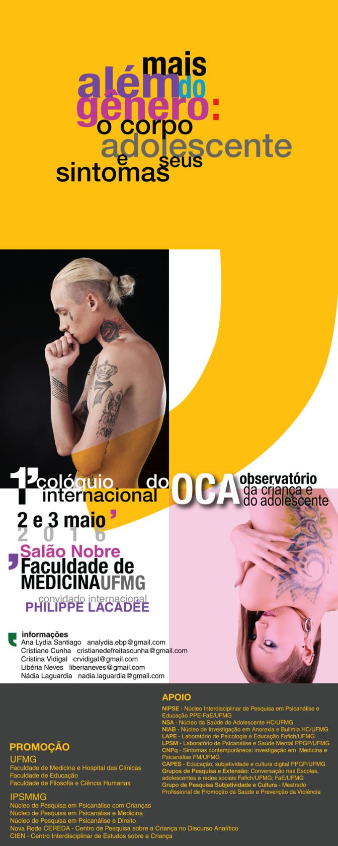 Primeiro Colóquio Internacional do Observatório da Criança e do Adolescente